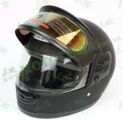 Шлем FXW HF-101 Матовый черный (два визора, темный и светлый)