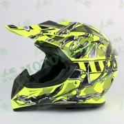 Шлем FXW HF-116 NEON YELLOW #2