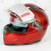 Мотошлем FXW HF-118 красный, глянец