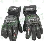 Мотоперчатки кожаные черные ATROX NF-3845