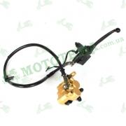 Гидравлика переднего тормоза МТ110/125-3