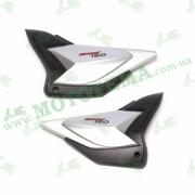Пластик боковый центральный (пара) Shineray XY150-10B Vista