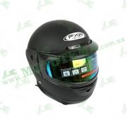 Шлем FXW HF-101 Черный матовый с воротником XL