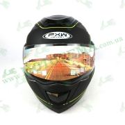 Шлем FXW  HF-119 Черно-желтый матовый