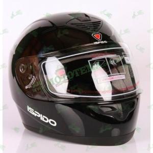 Шлем (интеграл) ISPIDO PULSE черный глянцевый