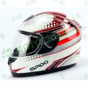 Шлем (интеграл) ISPIDO PULSE grafic красный