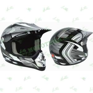 Шлем (кроссовый) ISPIDO SPARK MX grafic черный детский
