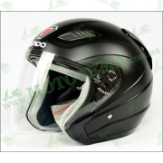 Шлем (открытый) ISPIDO AVIATOR черный матовый