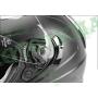 Шлем (открытый)ISPIDO AVIATOR SV с очками черный матовый