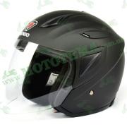 Шлем (открытый) ISPIDO LIBERTY черный матовый