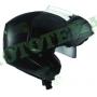 Шлем (модуляр) ISPIDO HYBRID с очками черный матовый