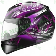 Мотошлем LS2 FF351 StarDust 2  New фиолетовый