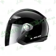 Шлем-полулицевик LS2 OF569 Track Gloss Black