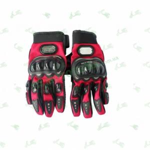 Мотоперчатки Probiker (красные)