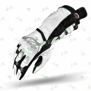 Мотоперчатки SHIMA MODENA white Lady