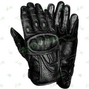 Мотоперчатки Xelement XG-298 (кожа / перфорация) черные