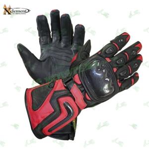 Мотоперчатки Xelement XG-441 Red (кожа / длинные)