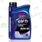ELF Трансмиссионное масло TRANSELF TIPE B 80W90 1L