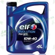 Масло ELF 10W40 4L EVOLUTION 700 STI (автомобильное)