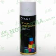 """Эмаль (краска) универсальная аэрозольная белая глянцевая """"LIDER"""""""