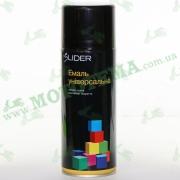 """Эмаль (краска) универсальная аэрозольная чёрная глянцевая """"LIDER"""""""