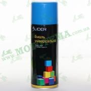 """Эмаль (краска) универсальная аэрозольная голубая глянцевая """"LIDER"""""""