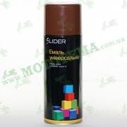 "Эмаль (краска) универсальная аэрозольная коричневая глянцевая ""LIDER"""