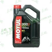 Масло Motul 300V 4T Factory Line 15W50 4 литра
