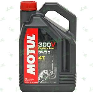 Масло Motul 300V Factory Line 4T 5W30 4 литра