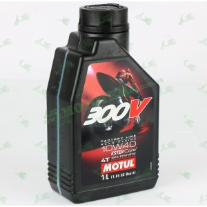 Масло моторное Motul 300V 4T Factory Line 10W40 1 литр