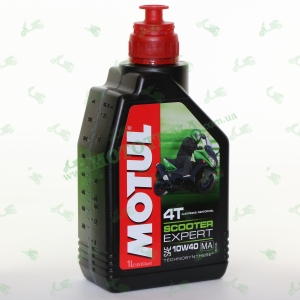 Масло моторное Motul Scooter Expert 4T MA Technosynthese 10W40 1 литр