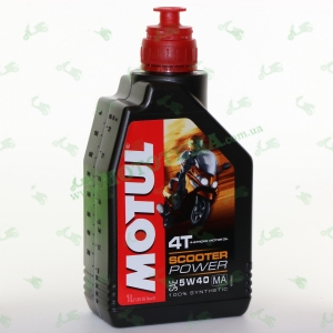 Масло моторное Motul Scooter Power 4T 5W40 1 литр