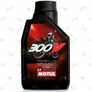 Масло Motul 300V 4T Off Road 15W60 1 литр