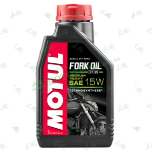 Масло для амортизаторов Motul Fork Oil Expert Medium-Heavy 15W 1 литр