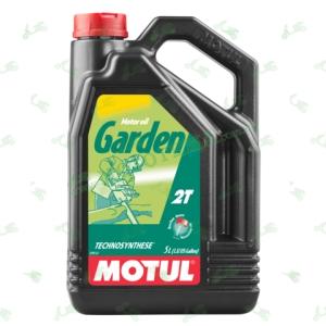 Масло полусинтетическое Motul Garden 2T Technosynthese 5 литров