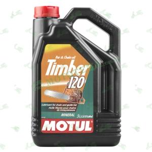 Масло для цепных пил Motul Timber 120 минеральное 5 литров