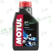 Масло Motul 100 Motomix 2T минеральное 1 литр
