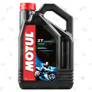 Масло Motul 100 Motomix 2T минеральное 4 литра