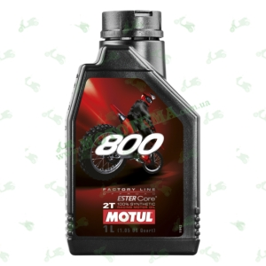 Масло моторное Motul 800 2T Off Road 1 литр