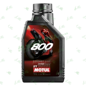 Масло моторное синтетика Motul 800 2T Factory Line Road Racing 1 литр