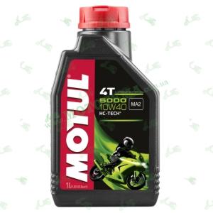 Масло моторное Motul 5000 4T HC-Tech 10W30 1 литр