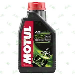 Масло моторное полусинтетика Motul 5100 4T Technosynthese Ester 10W50 2 литра