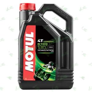 Масло моторное полусинтетика Motul 5100 4T Technosynthese Ester 10W50 4 литра