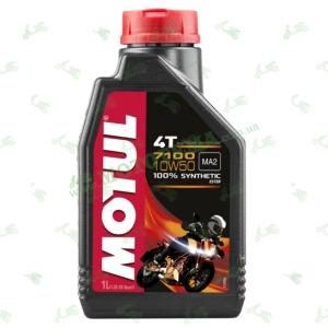 Масло моторное синтетическое MOTUL 7100 4T 10W50 1 литр