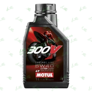 Масло моторное Motul 300V 4T Factory Line Road Racing 5W-40 1 литр