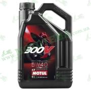 Масло Motul 300V 4T Factory Line 5W40 4 литра