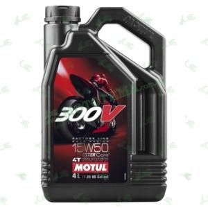 Масло моторное Motul 300V 4T Factory Line 15W50 4 литра