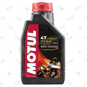 Масло моторное синтетика Motul 7100 4T 15W50 1 литр