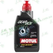 Масло трансмиссионное Motul Gearbox 80W90 минеральное 1 литр