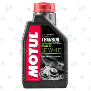 Масло трансмиссионное MOTUL TRANSOIL EXPERT 10W-40 Technosynthese® 1 литр (полусинтетическое)